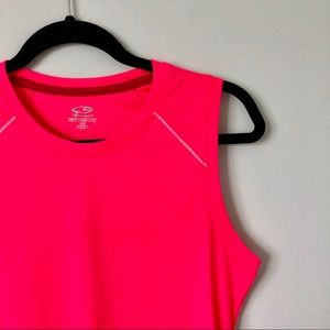 champion | semi-fitted workout tank bright pink